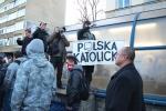 Polen = Katholizismus? (Marsz Niepodległości 2011). [Autor: Wiktor Baron, CC BY-SA 3.0]